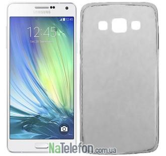 Ультра тонкий силиконовый чехол 0.3 mm для Samsung A300/A3 Black