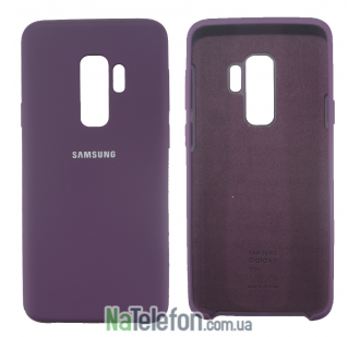 Чехол Original Soft Case для Samsung G965 Galaxy S9 Plus Фиолетовый