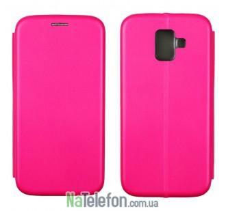 Чехол книжка U-Like Best для Samsung Galaxy A6 2018 Pink