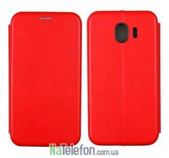 Чехол книжка U-Like Best для Samsung Galaxy J4 2018 Red