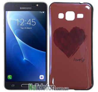 Чехол U-Like Picture series для Samsung J300/J320 Heart Pink