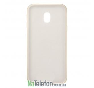 Чехол Original Silicone Case для Samsung J330 (J3-2017) White