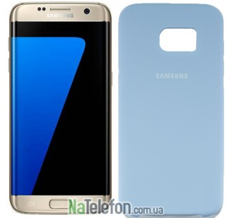 Чехол Original Soft Case для Samsung G930 Galaxy S7 Голубой
