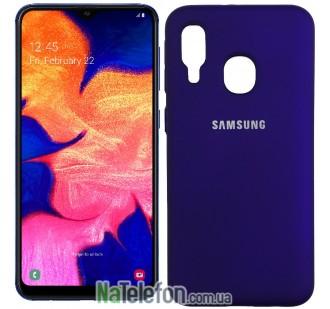 Чехол Original Soft Case для Samsung A40 2019 Фиолетовый FULL