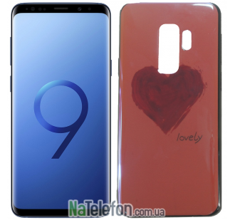 Чехол U-Like Picture series для Samsung G965 Galaxy S9 Plus Heart Pink