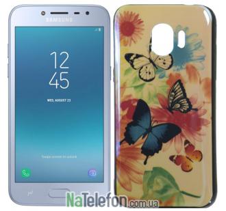 Чехол U-Like Picture series для Samsung J250 (J2 2018) Butterfly