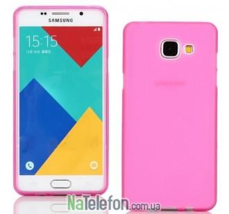 Чехол Ultra Thin Silicone Remax 0.2 mm для Samsung A510 (A5-2016) Pink