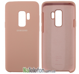 Чехол Original Soft Case для Samsung G965 Galaxy S9 Plus Розовый