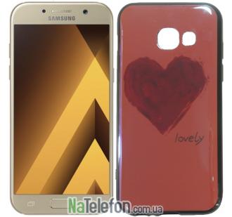 Чехол U-Like Picture series для Samsung A520 (A5 2017) Heart Pink