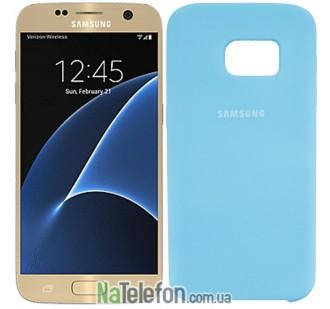 Чехол Original Soft Case для Samsung G930 Galaxy S7 Морская волна