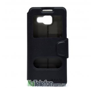 Чехол iMAX Samsung A720 (A7 2017) black