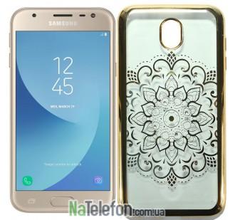 Силиконовый чехол Beckberg Breathe seria for Samsung J730 (J7-2017) Солнце