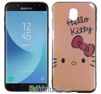 Чехол U-Like Picture series для Samsung J330 (J3 2017) Hello Kitty