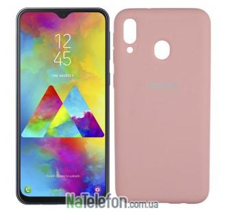 Чехол Original Soft Case для Samsung M205 Galaxy M20 Розовый FULL