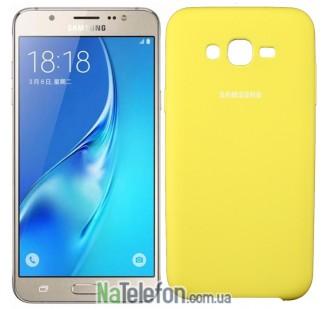 Чехол Original Soft Case для Samsung J710 (J7-2016) Золотой