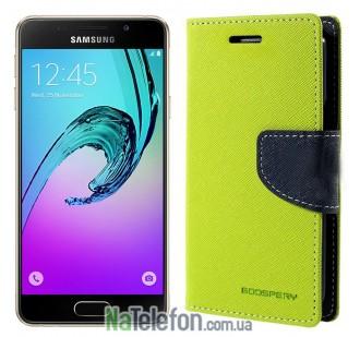 Чехол книжка Goospery для Samsung A510 (A5-2016) Green