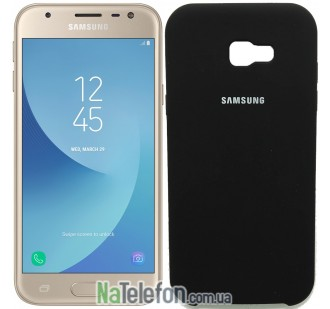 Чехол Original Soft Case для Samsung A320 (A3-2017) Чёрный