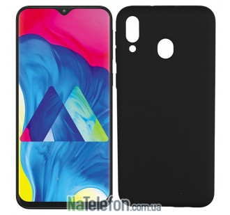 Чехол Original Soft Case для Samsung M205 Galaxy M20 Чёрный FULL