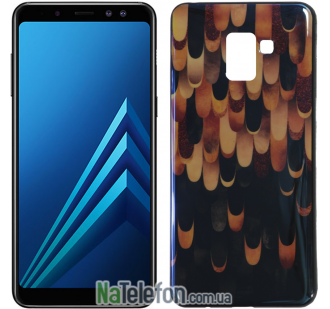 Чехол U-Like Picture series для Samsung A730 (A8 Plus 2018) Lights