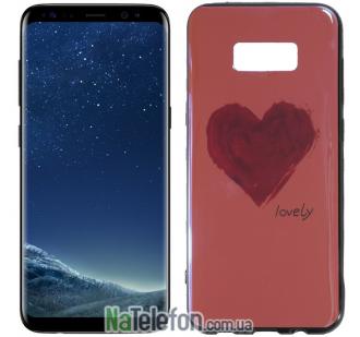 Чехол U-Like Picture series для Samsung G955 Galaxy S8 Plus Heart Pink