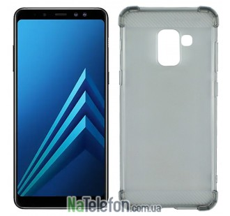 Чехол X-Level Crashproof series для Samsung A730 Galaxy A8+ (2018) Black