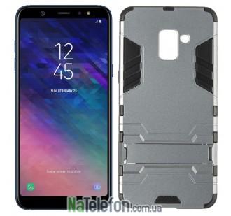 Ударопрочный чехол HONOR для Samsung A605 Galaxy A6 Plus 2018 Space Gray