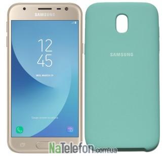 Чехол Original Soft Case для Samsung J330 (J3-2017) Светло голубой