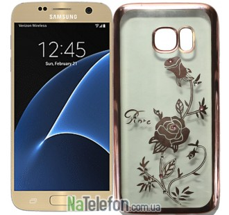 Чехол Beckberg Breathe seria для Samsung G930 Galaxy S7 Rose