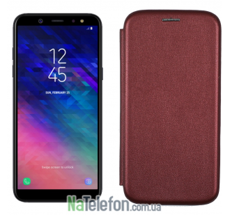 Чехол книжка U-Like Best для Samsung Galaxy A6 2018 Bronze
