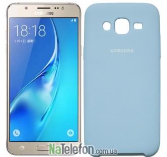Чехол Original Soft Case для Samsung J700 (J7) Голубой