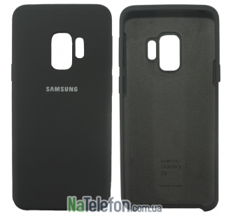 Чехол Original Soft Case для Samsung G960 Galaxy S9 Темно серый