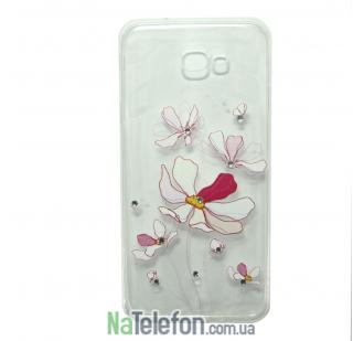 Чехол Lucent Diamond Case для Samsung J5 Prime Iris (Pink)