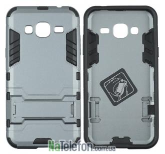 Чехол HONOR Hard Defence Series для Samsung J320 Galaxy J3 2016 Space Gray