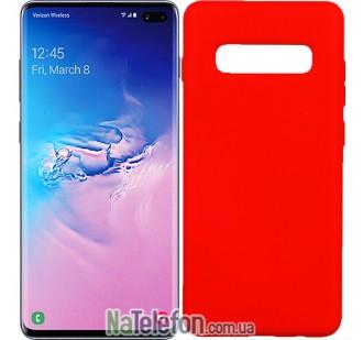 Чехол Original Soft Case для Samsung G975 Galaxy S10 Plus Красный