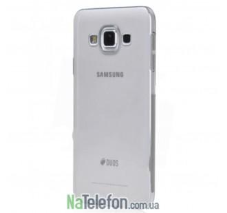 Ультра тонкий силиконовый чехол 0.3 mm для Samsung A300/A3 White