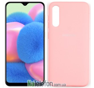 Чехол Original Soft Case для Samsung A30s 2019 Розовый FULL