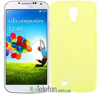 Чехол-накладка для Samsung S4 I9500 PC Ultra Slim Yellow