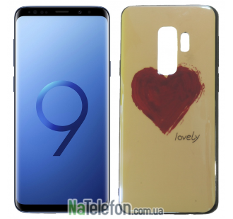 Чехол U-Like Picture series для Samsung G965 Galaxy S9 Plus Heart Blue
