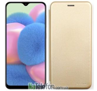 Чехол книжка U-Like Best для Samsung A307 Galaxy A30s 2019 Gold