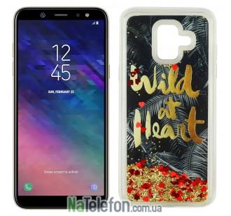 Чехол U-Like Aqua для Samsung A6 2018 (A600) Wild