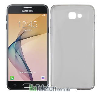 Чехол Ultra Thin Silicone Remax 0.2 mm для Samsung J5 Prime Black
