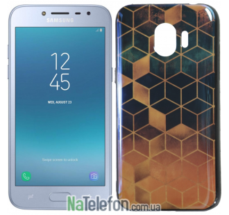 Чехол U-Like Picture series для Samsung J250 (J2 2018) Cube