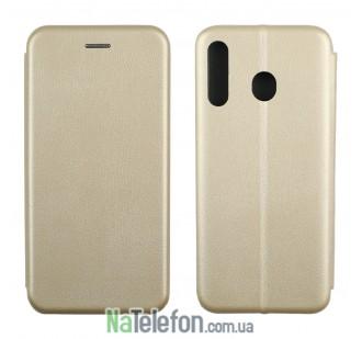 Чехол книжка U-Like Best для Samsung M305 Galaxy M30 Gold