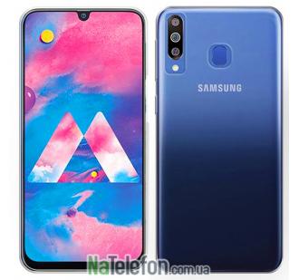 Ультра тонкий силиконовый чехол 0.3 mm для Samsung M305 Galaxy M30 (2019) White