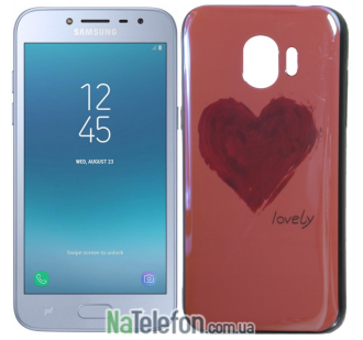 Чехол U-Like Picture series для Samsung J250 (J2 2018) Heart Pink