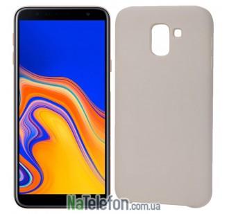 Чехол Original Soft Case для Samsung J6 Plus 2018 (J610) Серый