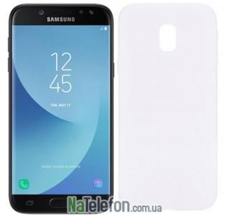 Силиконовый чехол Original Silicon Case Samsung J730 (J7-2017) White