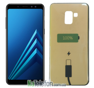 Чехол U-Like Picture series для Samsung A730 (A8 Plus 2018) Power 100%