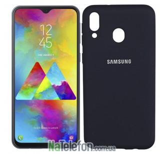 Чехол Original Soft Case для Samsung A40 2019 Синий FULL