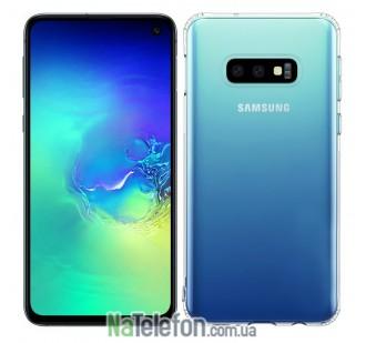 Ультра тонкий силиконовый чехол 0.3 mm для Samsung G970 Galaxy S10e White
